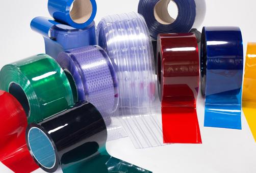 PVC Strip Curtains & Accessories