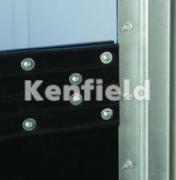 K550 Impact Crash Door: Ribbed rubber protection