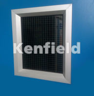 K1450 Insulated Personnel Service Door: Various vision panels