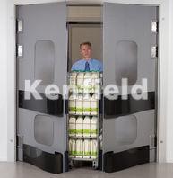 K150 Polyethylene Food Hygiene Door: High impact, lightweight and easy to clean