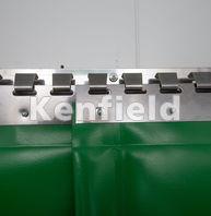 K1550 Insulated Strip Door Curtain: Lightweight