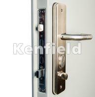 Personnel & K1050 Steel Security Doors: Our internal personnel door handle