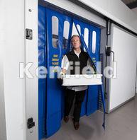 K1550 Insulated Strip Door Curtain: Low maintenance