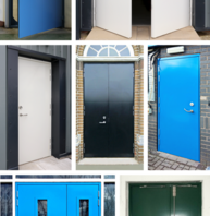 SR3 Certified Steel Security Doors